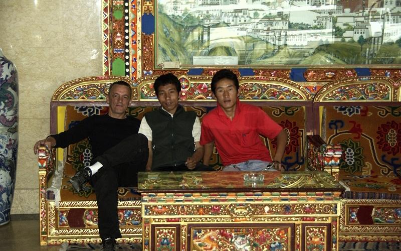 Voyage au Tibet en 2009.