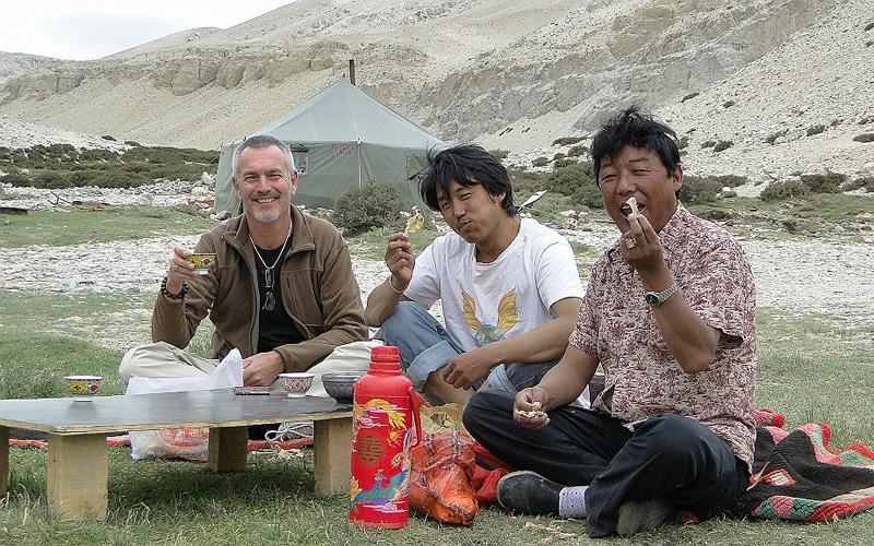 Voyage au Tibet en 2010.