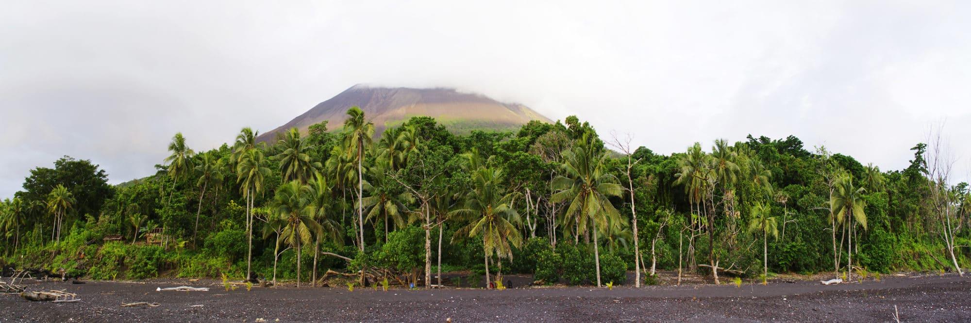 Vanuatu, île de Lopevi.