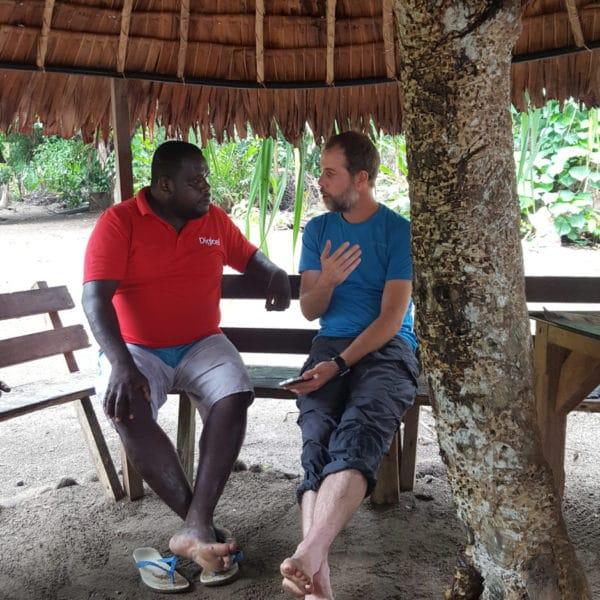 Vanuatu, Vanua Lava. Préparation des treks.