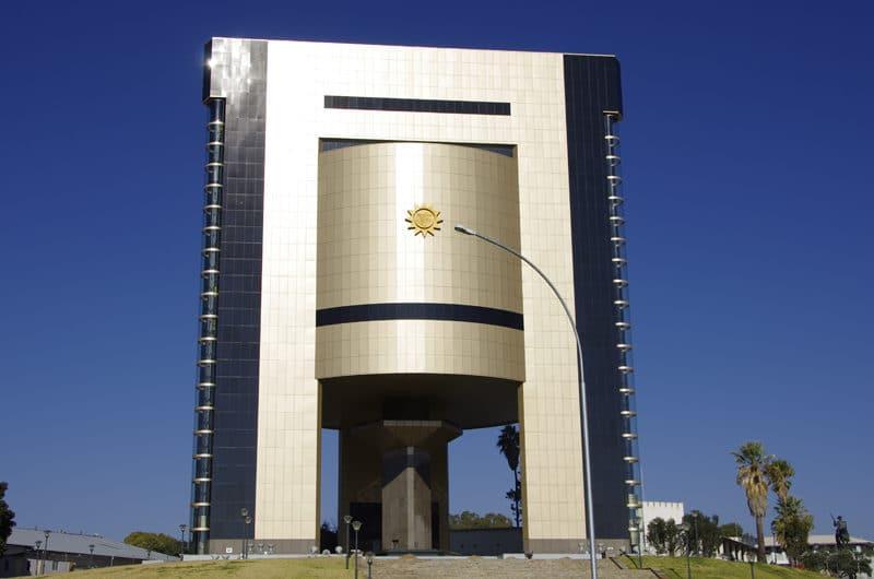 Musée de l'Indépendance, centre ville de Windhoek.