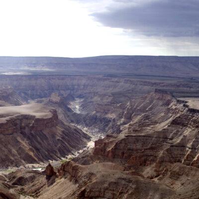 Fish River Canyon.