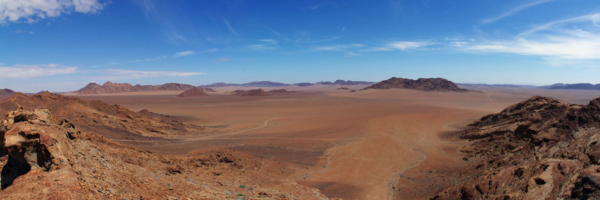 Namibie, Messum Crater.