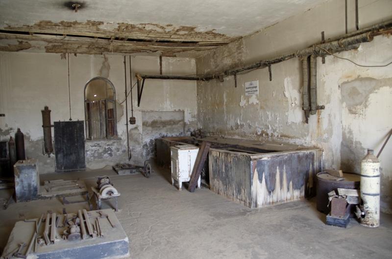 Kolmanskop, la ville fantôme.