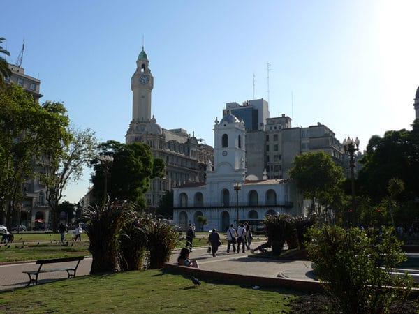 Buenos Aires, balade dans la ville lors de notre transfert.