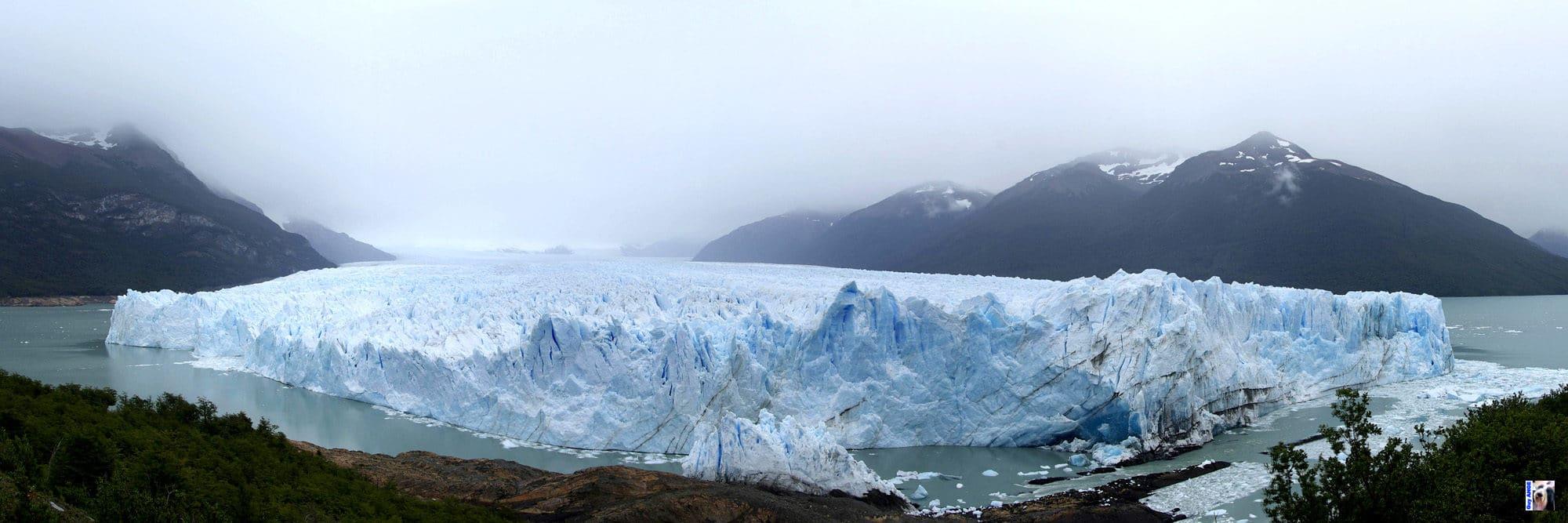 Front du glacier Perito Moreno.