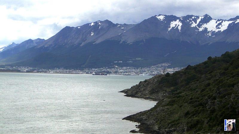 La petite ville d'Ushuaïa.