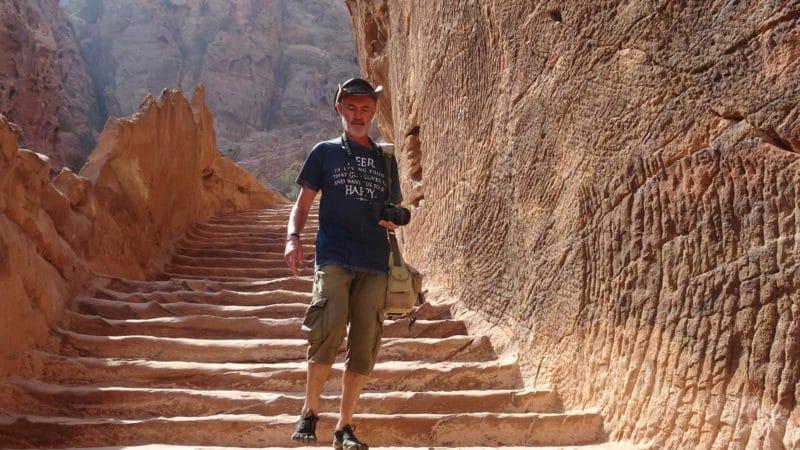 Jordanie, sur les sentiers de Pétra.