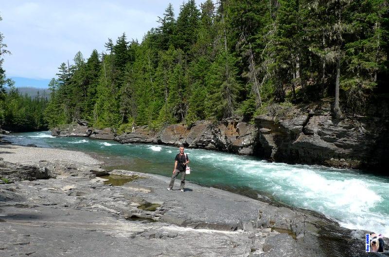 Glacier National Park. Une de nos nombreuses randonnées dans les parcs nationaux américain.