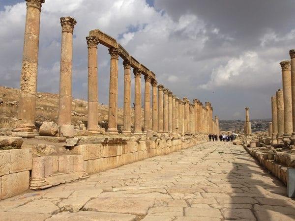 Très beau site antique.