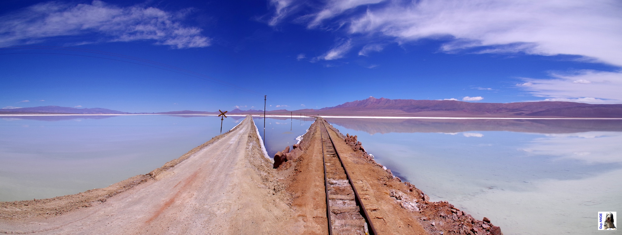 Argentine, région de la Puna, la Laguna Seca.
