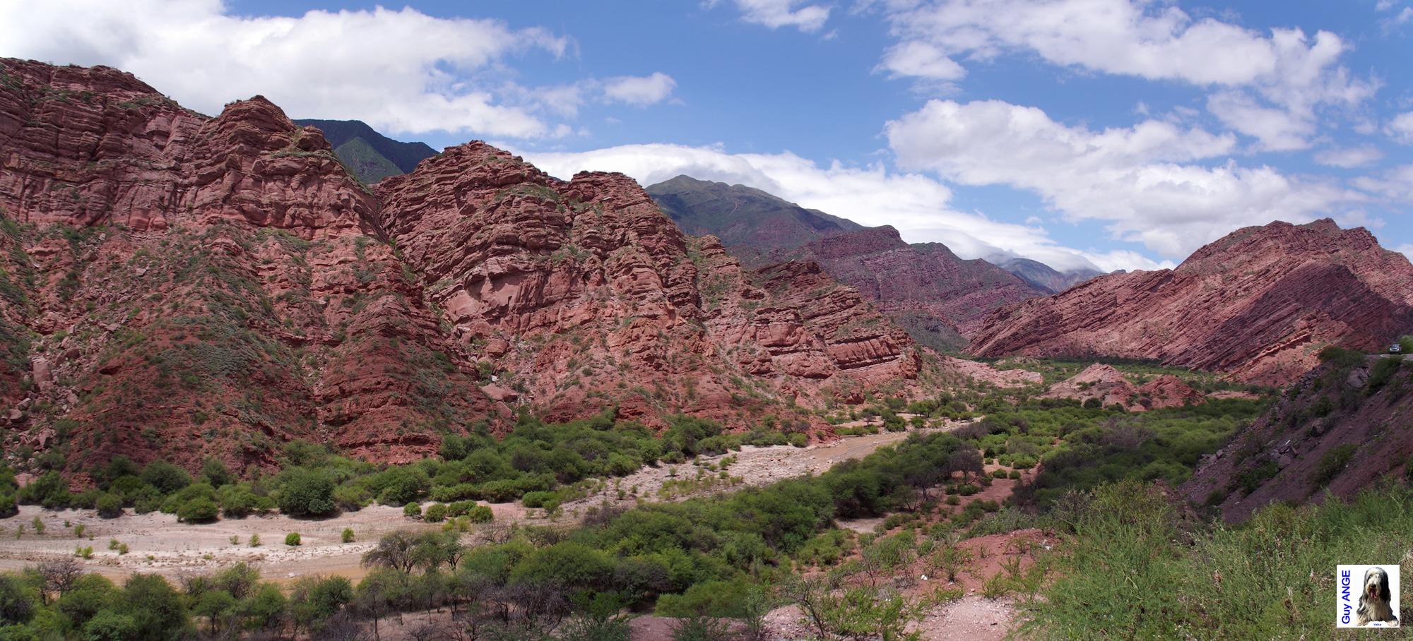 La Quebrada de las Conchas.