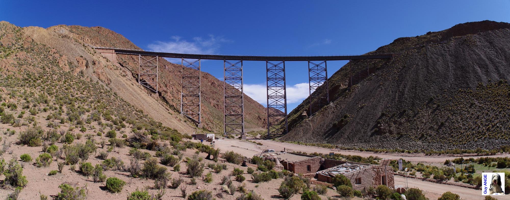 Argentine, région de la Puna, Viaduc Polvorilla.