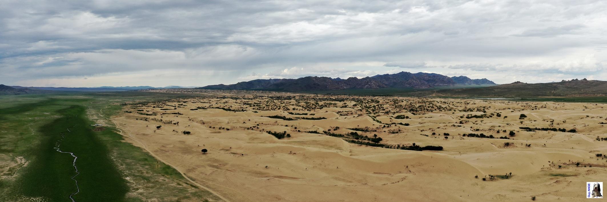 Vue aérienne du Petit Gobi.