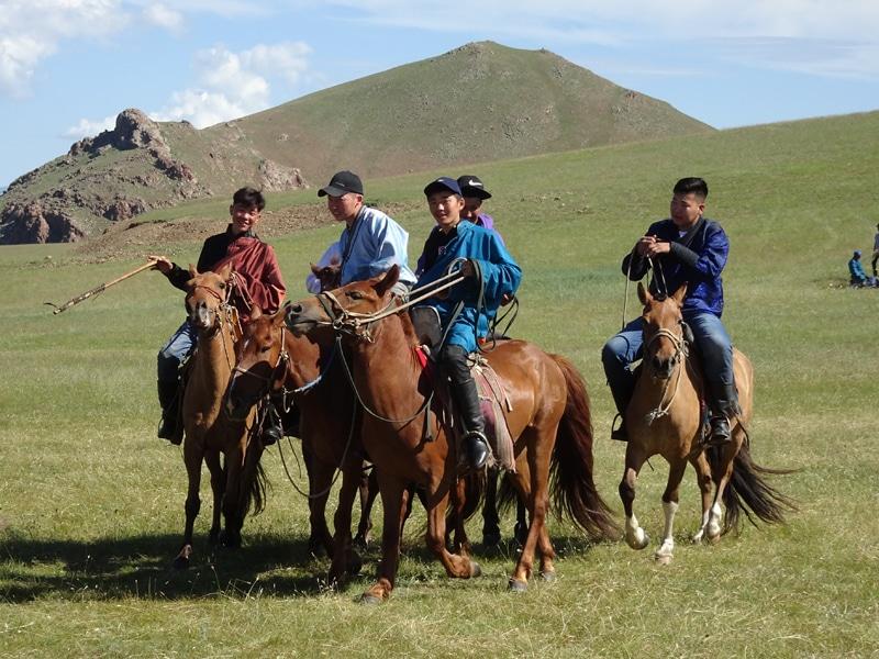 Fête du Naadam.