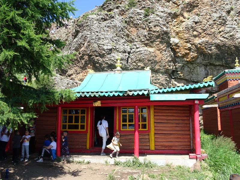 Ermitage bouddhiste de Tuvkhun.