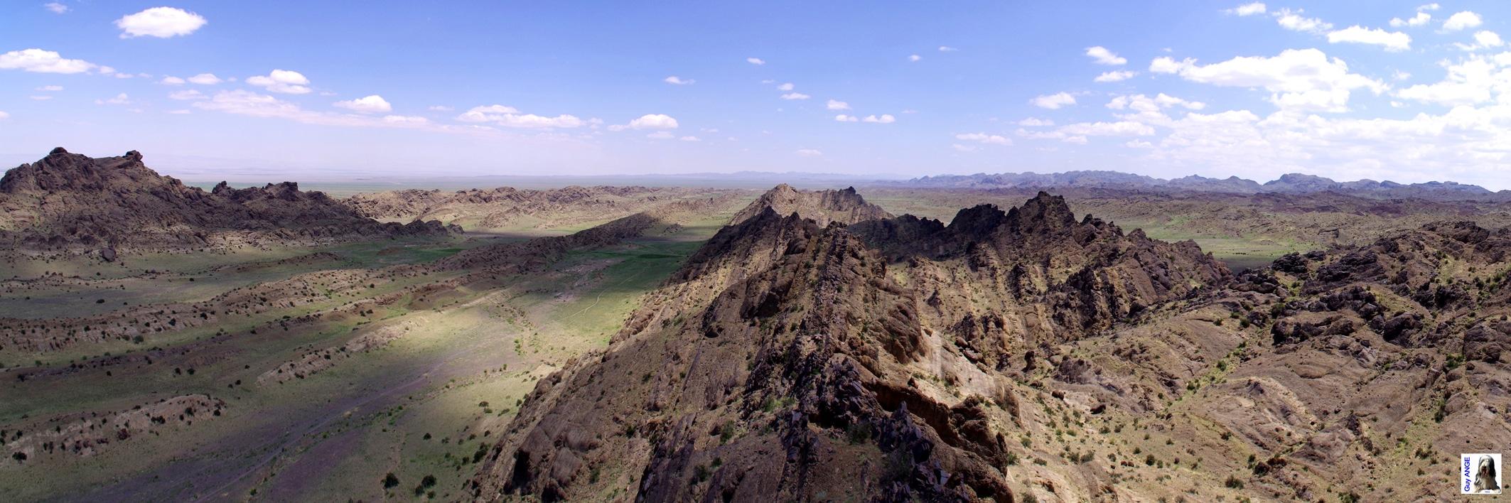 Dans le désert mongole.
