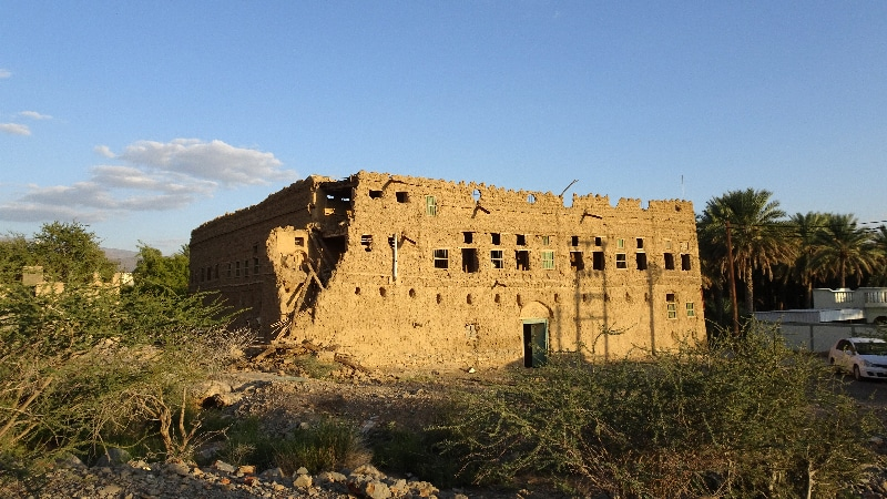 L'ancien village d'Al Hamra. Un patrimoine en disparition.