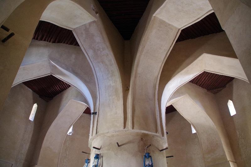 Château de Rustq. Très belle salle voûtée au niveau d'une tour de garde.