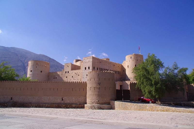 Entrée du Château de Rustaq.