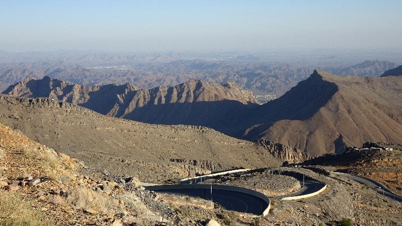 Djebel Akhdar, la route vertigineuse du retour.