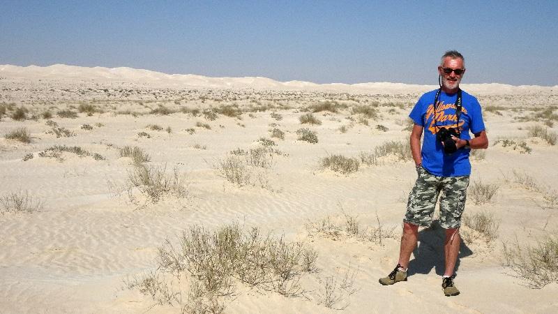Et voilà les fameuses dunes blanches.