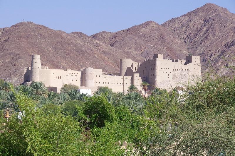 Le fort de Bahla, Sultanat d'Oman.