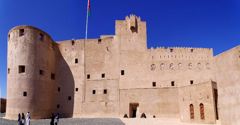 Le château de Jabrin, Sultanat d'Oman.