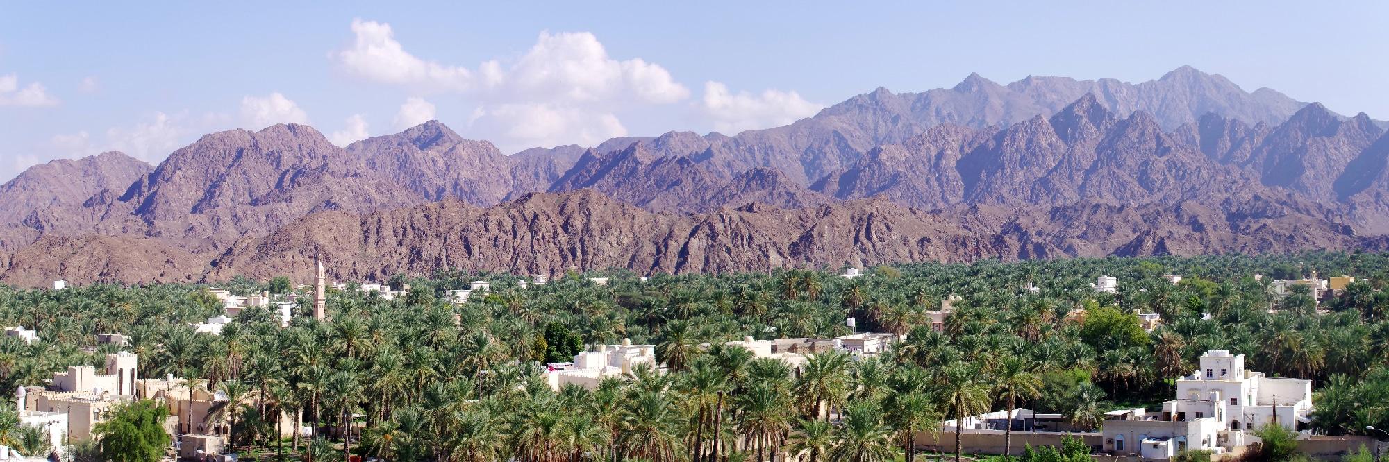 Sultanat d'Oman, ville de Rustaq.