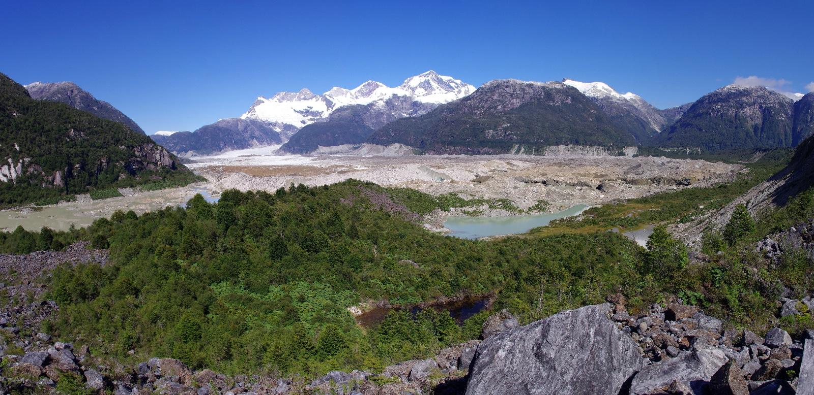 Glaciar Exploradores, Patagonie, Chili.