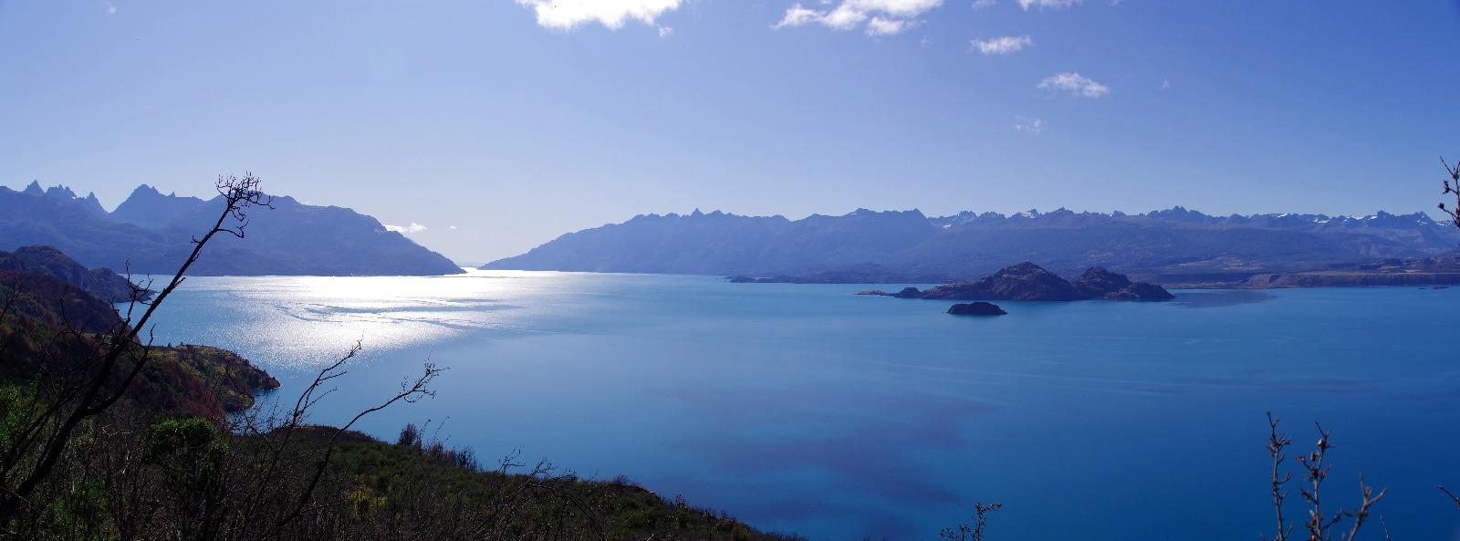 Lago General Carrera.