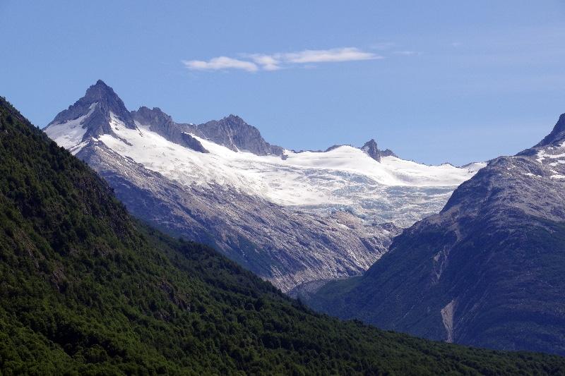 Glaciers de la Patagonie chilienne.