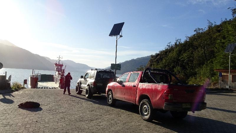 Embarcadaire à Puerto Hungat.