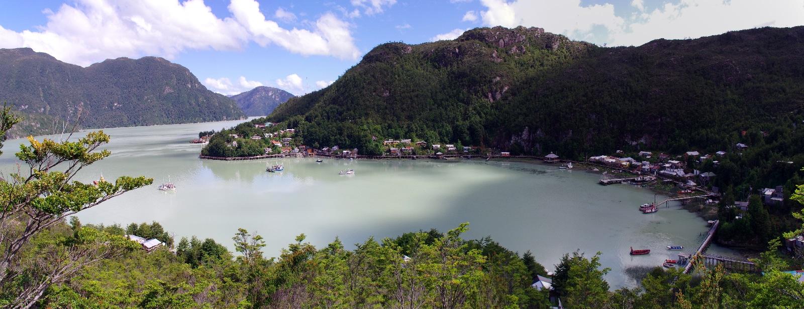 La baie de Tortel.