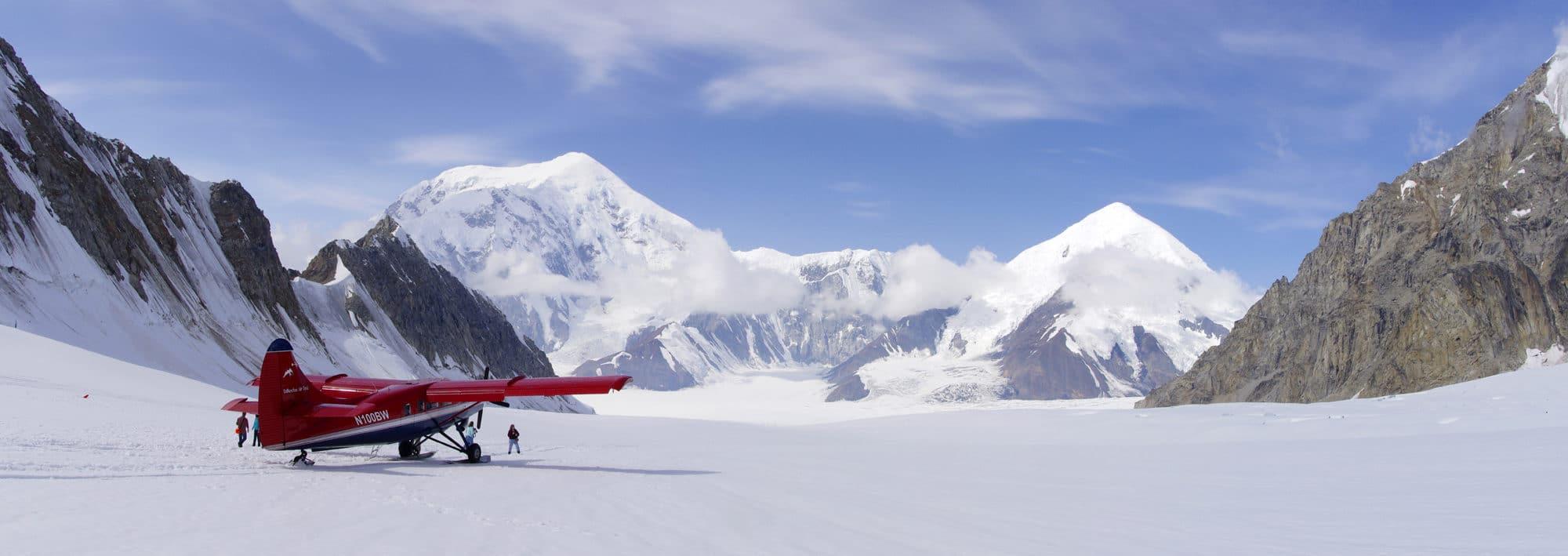 L'Alaska, le mont Denali.