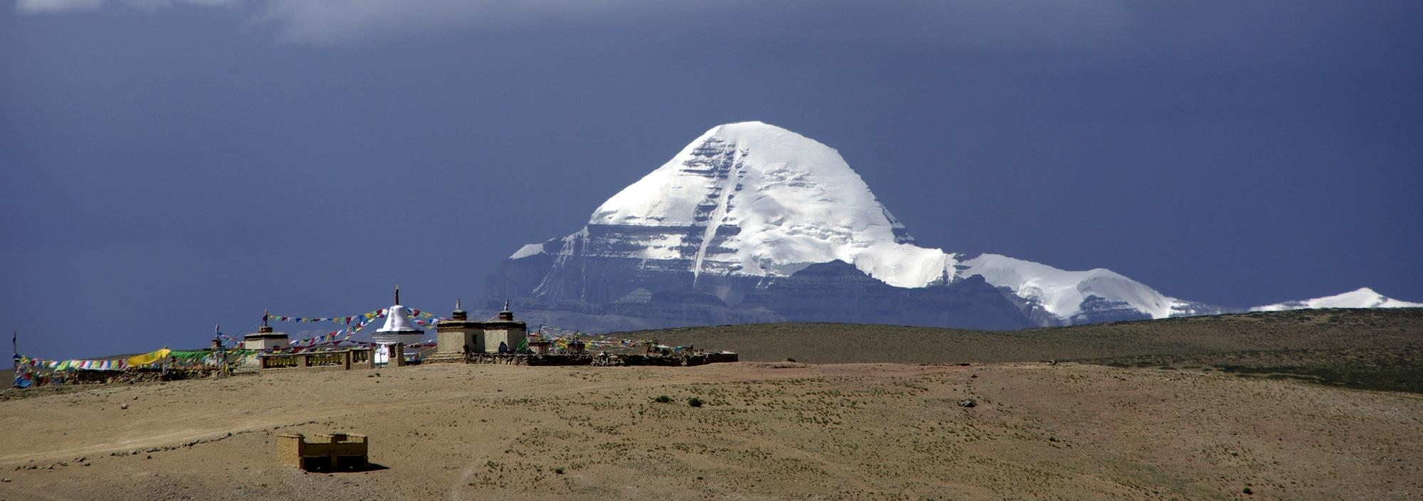 Le Mont Kailash au Tibet.