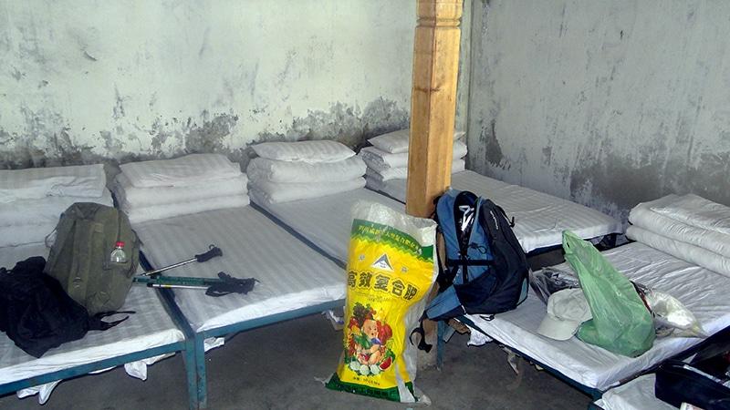 Hostellerie du monastère de Dira-puk, confort sommaire mais repos récupérateur.