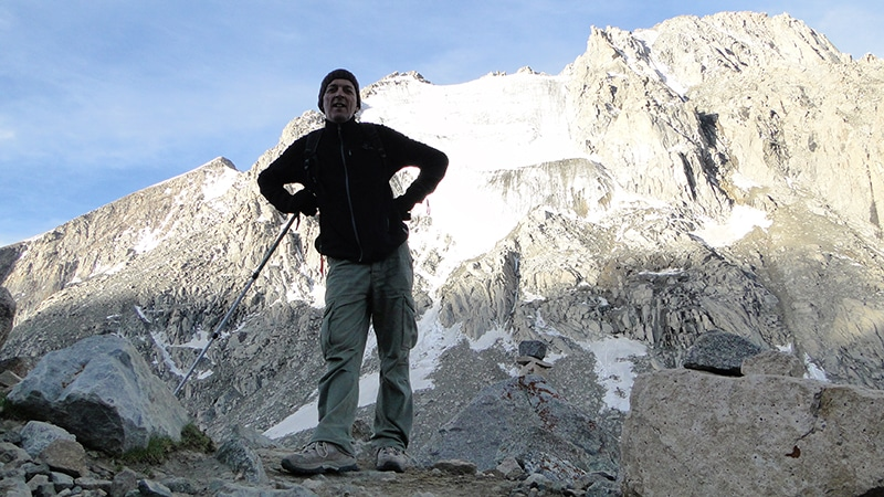 La fierté d'être parvenu à une telle altitude, merci Sondja.