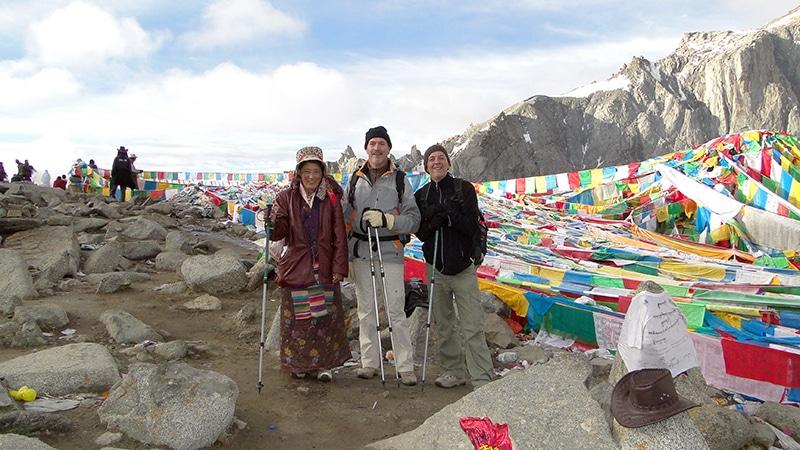 Le col de Drölma-la 5 650 m, nous sommes fiers de nous.