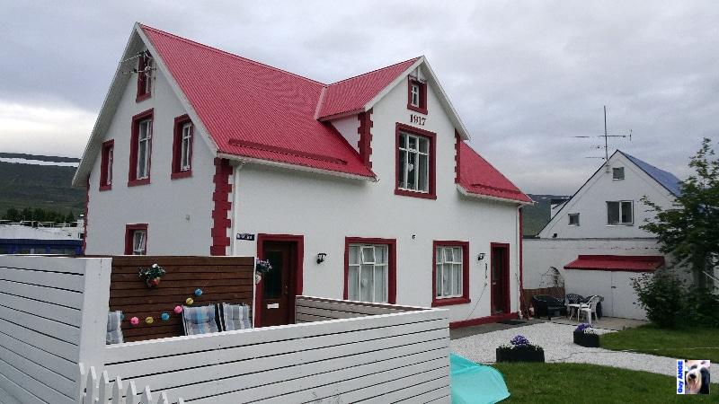 Akureyri, les rues du centre ville.