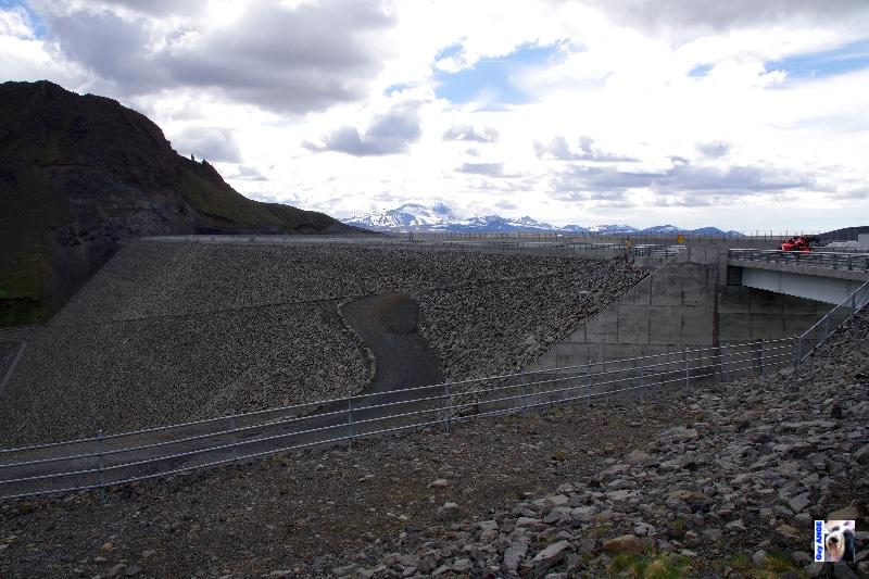 Le barrage de Kárahnjúka