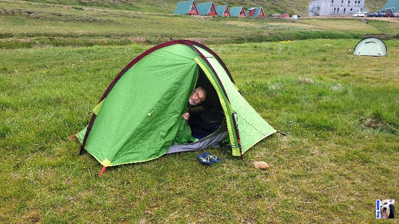 Camping à Kerlingarfjöll.