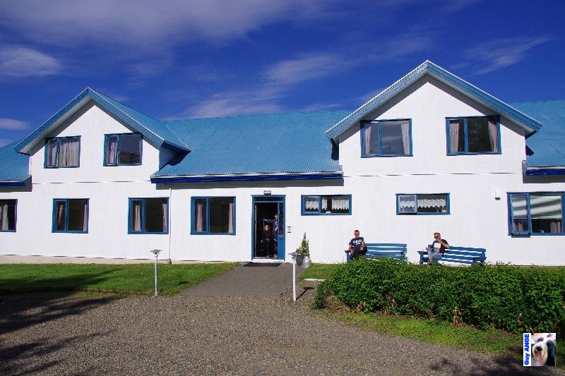Notre guesthouse à Egilsstadir.