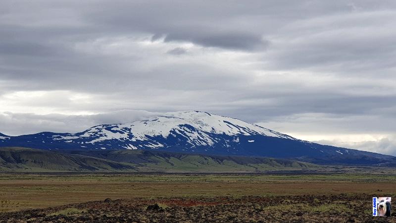 Le volcan Hekla.
