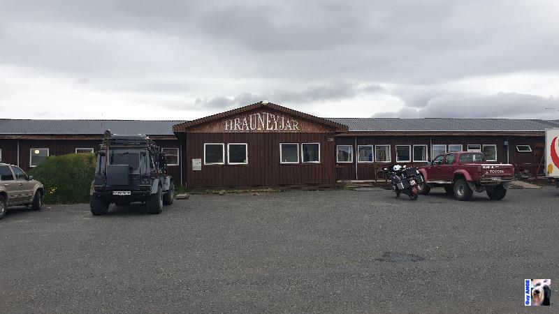 Hôtel, restaurant, bar, station-service Hrauneyjar.