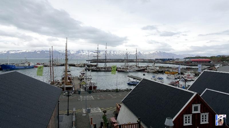 Le port d'Húsavik.