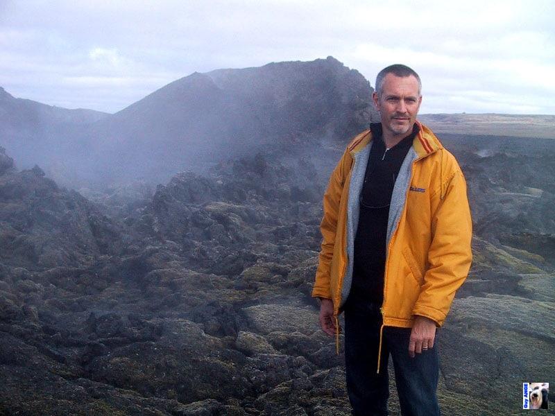 Voyage en Islande en 2003.