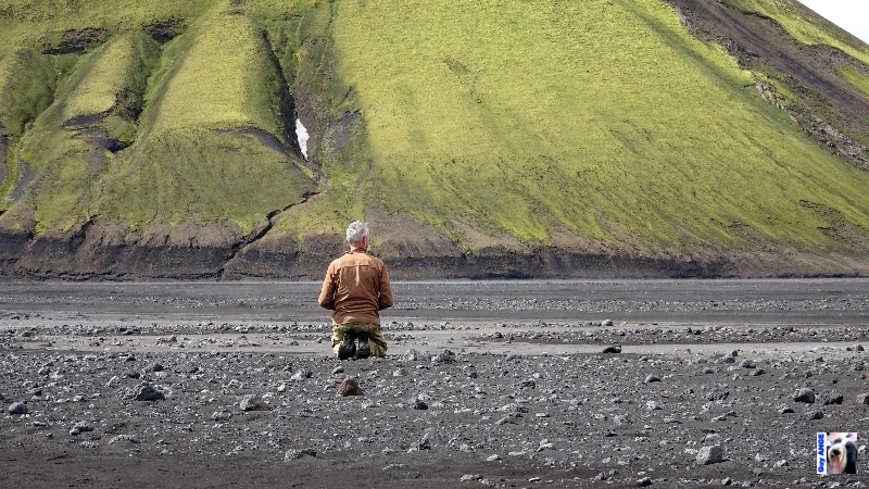 Volcan Mælifell en bordure du Mýrdalsjökull.