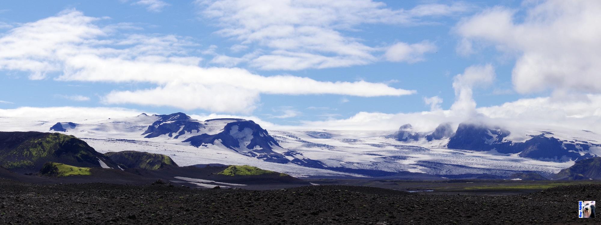 Plaine du Mýrdalsjökull.