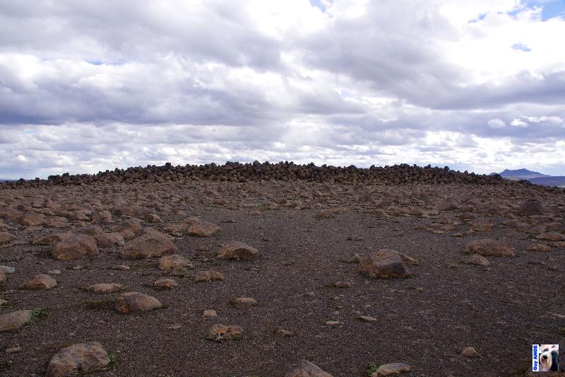 Skessugarður - Le rempart de la géante.